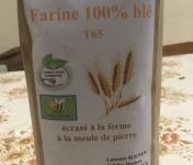 FARINE DE LA TUILERIE - Farine de Blé T65 - 1kg
