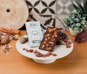 Le Petit Atelier - Tablette Chocolat Noir Bio Aux Amandes Caramélisées