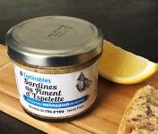 Ô'Poisson - Tartinables Sardines Au Piment D'espelette