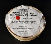 La Fromagerie Marie-Anne Cantin - Bourriche De Beurre Pasteurisé À La Baratte  Au Piment D'espelette - 125 Gr