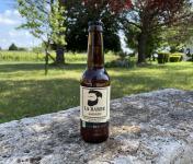 """Vignobles Fabien Castaing - Bière Artisanale Ambrée """"La Barbe"""" Haute Fermentation - 33cl"""