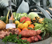 La Boite à Herbes - Panier De Saison Bio + Vin Rosé
