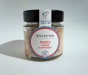 Saumon de France - Rillettes de truite 5 baies et estragon