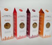 La bonne pâte de Beauce - Assortiment De Pâtes Au Blé Complet, 2x4 Boîtes