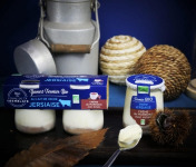 Ferme de La Tremblaye - Yaourt De Vache Jersiaise Fermier Bio À La  Crème De Marron Avec  Eclats  2 Pots