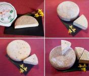 Ferme Les Bruyères - Plateau de Fromage Vosgien BIO - 4 fromages
