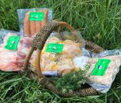 Ferme du Bois de Boulle - Colis de viande de lapin spécial Barbecue pour 4 personnes