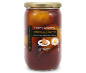 Conserves Guintrand - Poires Williams Entières Yr Au Caramel Bio - Bocal 850ml