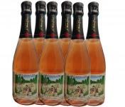 Champagne J. Martin et Fille - Cuvée des Amoureux de Peynet Brut Rosé - 6x75cl