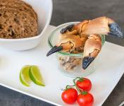 Ô'Poisson - Pinces De Tourteau Cuites (crabe) - Lot De 300g