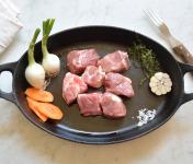 BEAUGRAIN, les viandes bien élevées - Navarin d'Agneau d'Auvergne Bio d'Auvergne