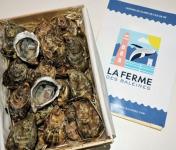 LA FERME DES BALEINES - Bouriche De 48 Huîtres Spéciales N°4 - 100 % Élevées En Claires