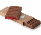 La Glacerie par David Wesmaël - Meilleur Ouvrier de France Glacier - Tablette Glacée Chocolat au Lait, Framboise & Passion