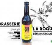 La Roque  Brasserie Bio, paysanne et familiale - Bière Tempo 12x33cl - Brasserie Fermière Bio