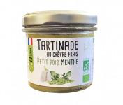 Fromagerie Seigneuret - Tartinade Au Chèvre Frais - Petit Pois Et Menthe 90g