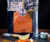 ONAKE - Le Fumoir du Pays Basque - Tranches de Saumon Écossais, Fumé au Bois De Hêtre - 4 Pers