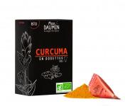Epices Max Daumin - Curcuma Bio - Boite de dix dosettes