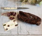 La Ferme du Vayssaïre - Saucisse Sèche de boeuf aux Noisettes sans nitrites/nitrates