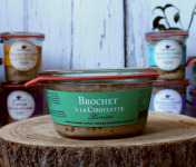 La Bourriche aux Appétits - Terrine de  Brochet à la Ciboulette