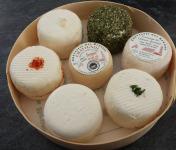 Chèvrerie des Brosses - Plateau De 7 Fromages De Chèvres