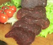 Bisons d'Auvergne - Viande Séchée De Bison Tranchée