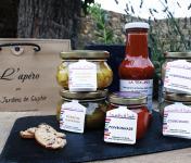 """Les Jardins de Saphir - """"L'Apéro"""" par les Jardins de Saphir (x6 Tartinades et Pickles)"""