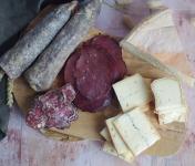 Ferme Chambon - Raclette pour 2 : Assortiment Charcuterie et Fromage