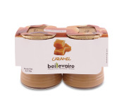BEILLEVAIRE - Crèmes desserts x2 - Caramel