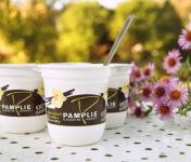 Laiterie de Pamplie - Lot De 4 Yaourts Brassés Arôme Naturel De Vanille Au Lait Entier