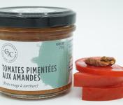 Conserveries des Sept Collines - Tomates Pimentées Aux Amandes - 100g