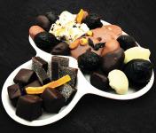 Maison du Pruneau - Assortiment Pâques Fêtes Pruneaux Et Chocolats - Assiette Raffinée 650g