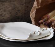 Atelier Eva Dejeanty - Plateau - Assiette en porcelaine émaillée