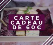 Pourdebon - Carte Cadeau 60 €
