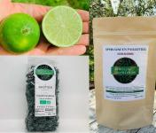 Spiruline des Oliviers - Coffret Spiruline en Paillettes & Citrons Verts Bio