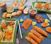 La Ferme du Ciron - Planche Gourmande De Truite Du Ciron