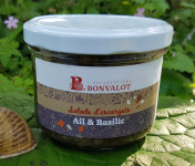 L'escargotière BONVALOT - Salade d'Escargot Ail et Basilic 180g