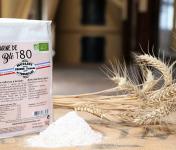 Moulins de Versailles - Farine De Blé Bio T80 / Bise - 1kg