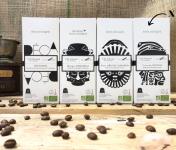Cafés Factorerie - Capsules Lot de 5 boîtes : Nos Capsules Biologiques