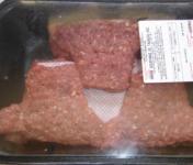 Les Délices du Scamandre - Steak Haché Surgelé De Taureau 1 kg ( En Forme De Tête De Taureau)