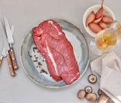 BEAUGRAIN, les viandes bien élevées - Bœuf Salers - Onglet de Bœuf Épluché Pièce Entière