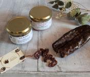 La Ferme du Vayssaïre - Petite Planche Apéro de Boeuf Aubrac : Saucisse Sèche, Rillettes et Pâté
