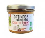 Fromagerie Seigneuret - Tartinade Au Chèvre Frais - Carotte Et Piment D'espelette 90g