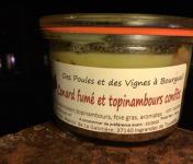 Des Poules et des Vignes à Bourgueil - Terrine De Canard Fumé Et Topinambour Confit