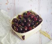 La Ferme de l'Ayguemarse - Cerises de la Drôme Provençale 2 kg