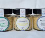 Saumon de France - Lot de 3 rillettes de Saumon de France