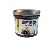 Fromagerie Seigneuret - Olivade Au Chèvre Frais - Noire 90g