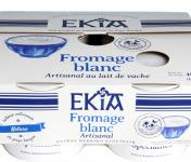Bastidarra – Ekia - Fromage Blanc Nature 4*100 Gr