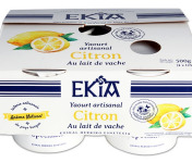 BASTIDARRA - 4 Yaourts Citron Etuvés