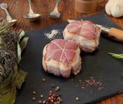 La Ferme du Chaudron - 4 Paupiettes de Porc BIO aux champignons