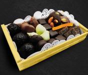 Maison du Pruneau - Cueillette du Gascon - Assortiment Pâques Et Fêtes Pruneaux Et Chocolats - Mini Cagette Gourmande 400g